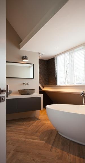 Slaapkamer met badkamer ensuite | Van der Linden Timmerwerk